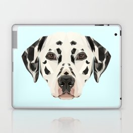 Dalmatian // Pastel Blue Laptop & iPad Skin