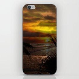 Sunset Palms ~ Pacific Ocean ~ California iPhone Skin