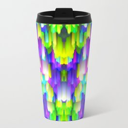 Colorful digital art splashing G392 Travel Mug