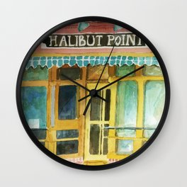 Halibut Point Restaurant Wall Clock