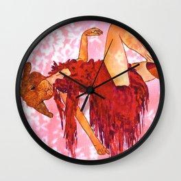 sexy tango bunny Wall Clock