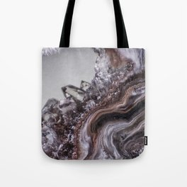 Tiny Agate and crystals Tote Bag