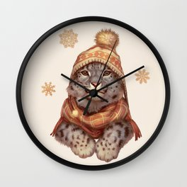 Beanie Weather Wall Clock