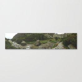 Beautiful lake of National Park High Tatras Canvas Print
