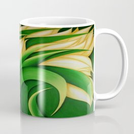 Stylized Yellow Tulips Coffee Mug