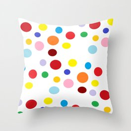 circle me with love Throw Pillow