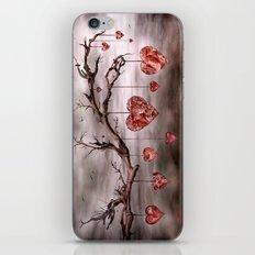 The new love tree iPhone Skin