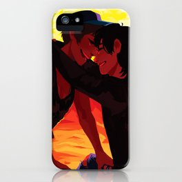 In the fire iPhone Case