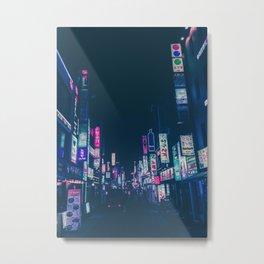 Seoul Nights Metal Print
