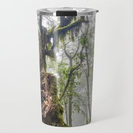 Centenary Tree. Garajonay. Foggy Forest Travel Mug
