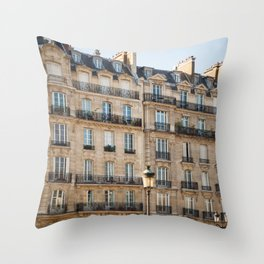 Classique - Paris Apartments Throw Pillow