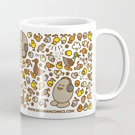 Eggman Comics - Ducklings Coffee Mug