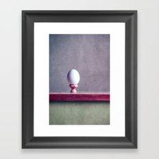 Coquetier Framed Art Print