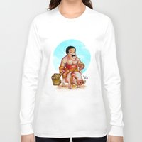 cleveland Long Sleeve T-shirts featuring Cleveland rider by Nicolaine