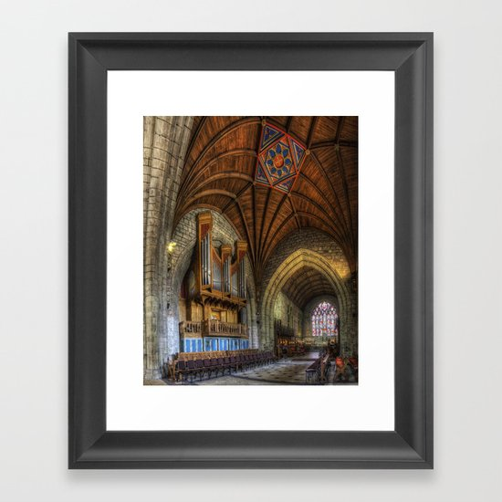 Cathedral Architecture Framed Art Print