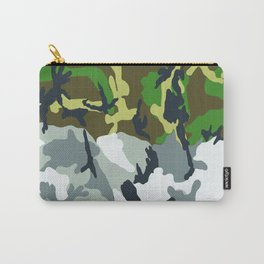 Urban Woodland Camo Carry-All Pouch