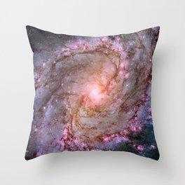 Spiral Galaxy M83 Throw Pillow