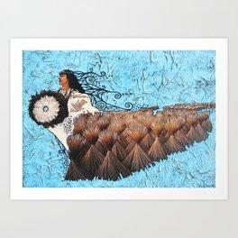 Kawelu Art Print