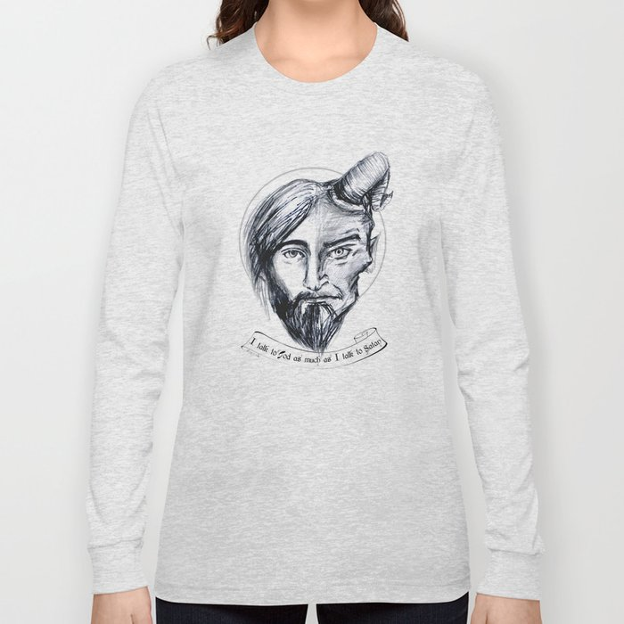 God and Satan Long Sleeve T-shirt