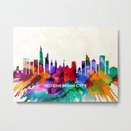 Ho Chi Minh City Skyline Metal Print