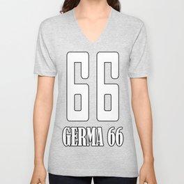 Germa 66 Unisex V-Neck