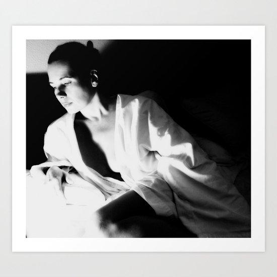 in a zen mood Art Print