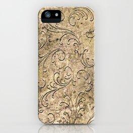 Vintage Damask 17416 iPhone Case