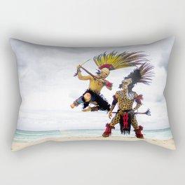 Battle of Gods Rectangular Pillow
