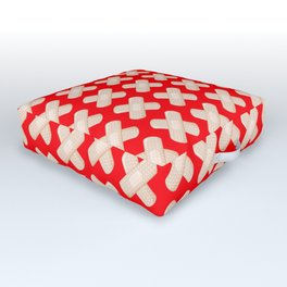 First Aid Plaster Outdoor Floor Cushion