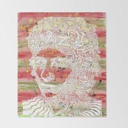 Bob Dylan #7 Throw Blanket