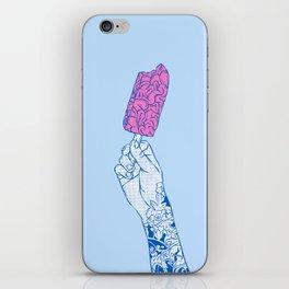 Brain ice cream! mmmmm iPhone Skin