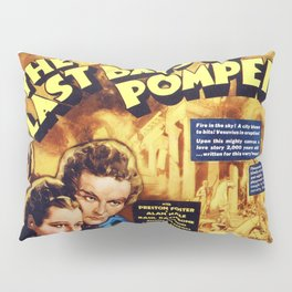 The Last Days of Pompeii Pillow Sham