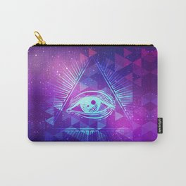 Eye of Providence. Alchemy, religion, spirituality, occultism. Carry-All Pouch