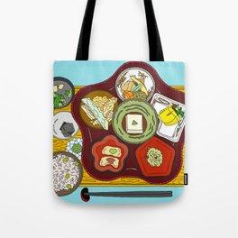 Japanese Veggie Platter Tote Bag