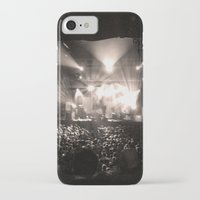 concert iPhone & iPod Cases featuring A Concert by Rick Cohen