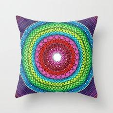 Mandala of Inner Peace Throw Pillow