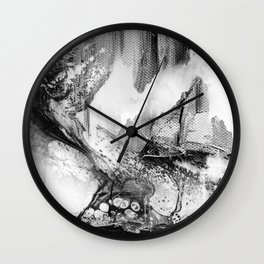 Isolation comes in black Wall Clock