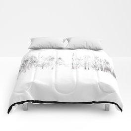 Winter Vignette | Prospect Landscape | Nadia Bonello | Canada Comforters