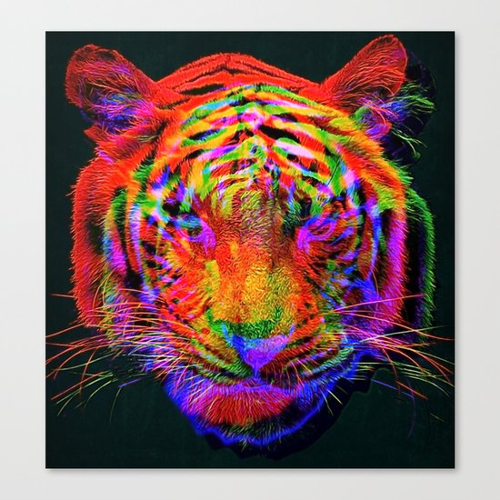 Beautiful Aberration Canvas Print
