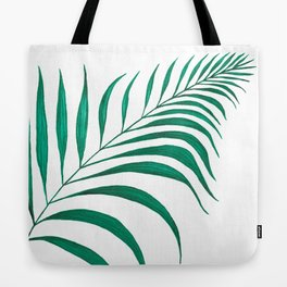 Tropical Palm Leaf #5 | Watercolor Painting Tote Bag