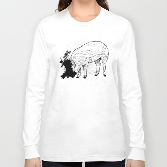 Locals Only - Cardiff, Wales Long Sleeve T-shirt