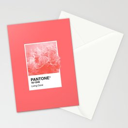Pantone Series – Living Coral Stationery Cards