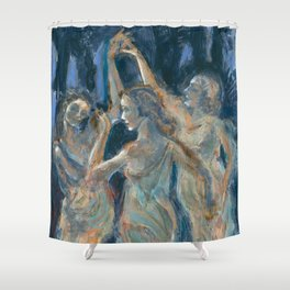 Three Graces Shower Curtain