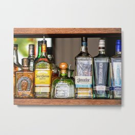 Last Call For Alcohol Metal Print