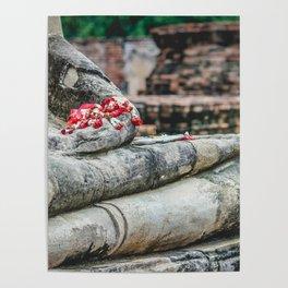 Phuang Malai for the Buddha Poster