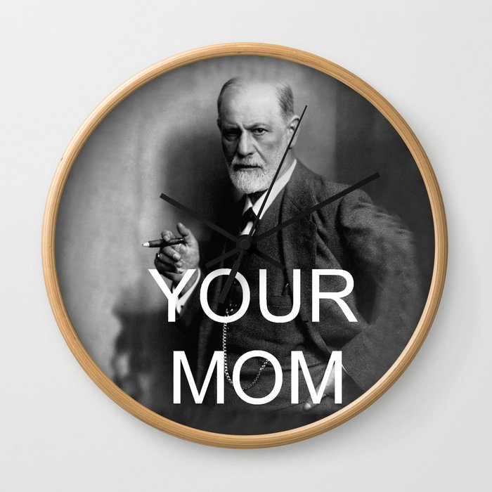 Your Mom Wall Clock