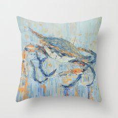 Chesapeake Blue Crab Throw Pillow