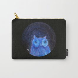 Round Owl Carry-All Pouch