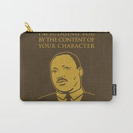 Content of Character Carry-All Pouch
