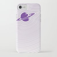 saturn iPhone & iPod Cases featuring Saturn by Danielle Podeszek